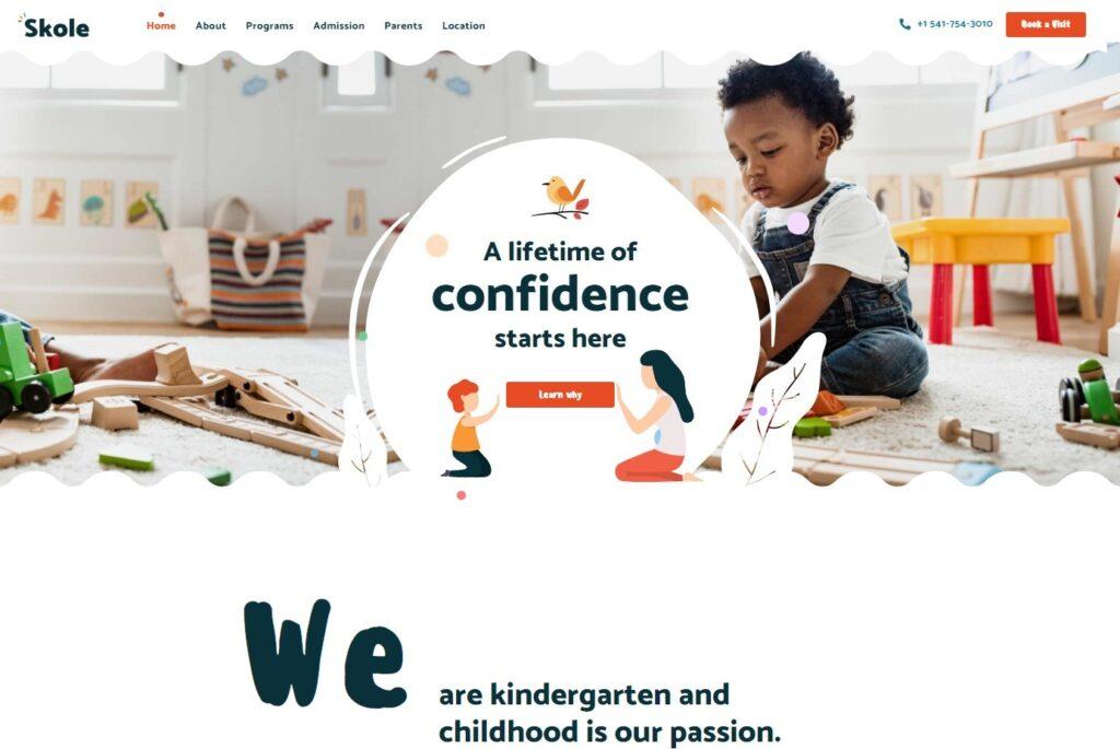 Skole Kindergarten WordPress Themes