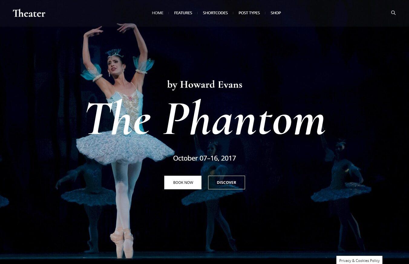 Theater Company WordPress Themes