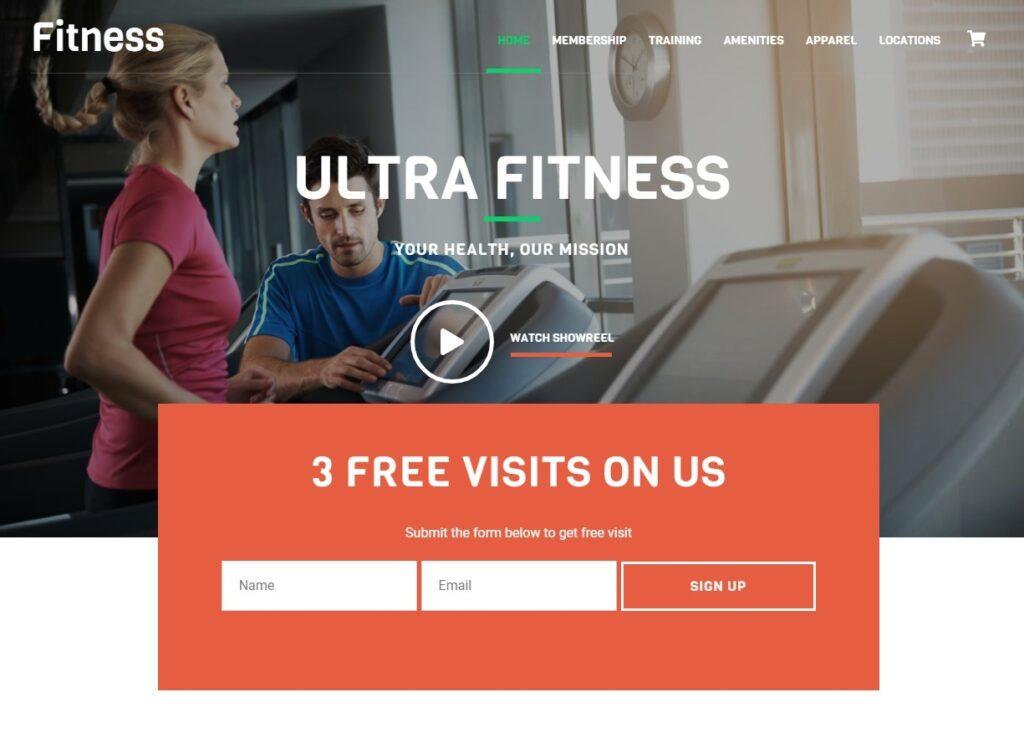 Ultra Themifys Powerful Multipurpose Theme Fitness