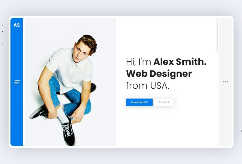 Wezen WordPress Personal Portfolio Theme