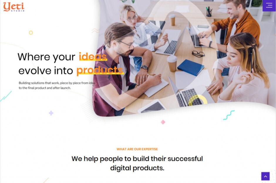 Business Portfolio WordPress Themes