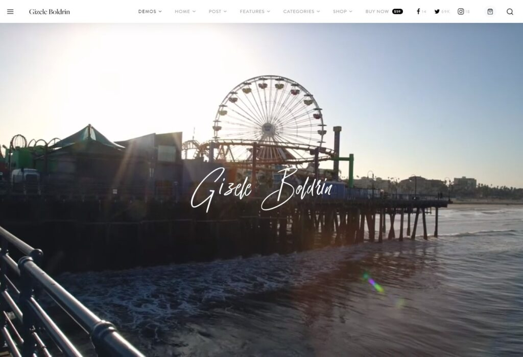 Gizele Boldrin Creative Blog Magazine