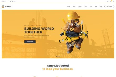 Home Remodeling WordPress Themes