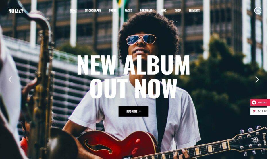 Music Store WordPress Themes