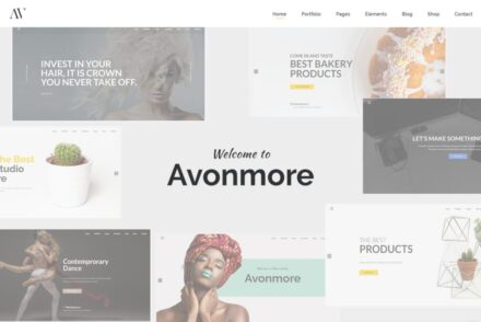 Salon WordPress Themes