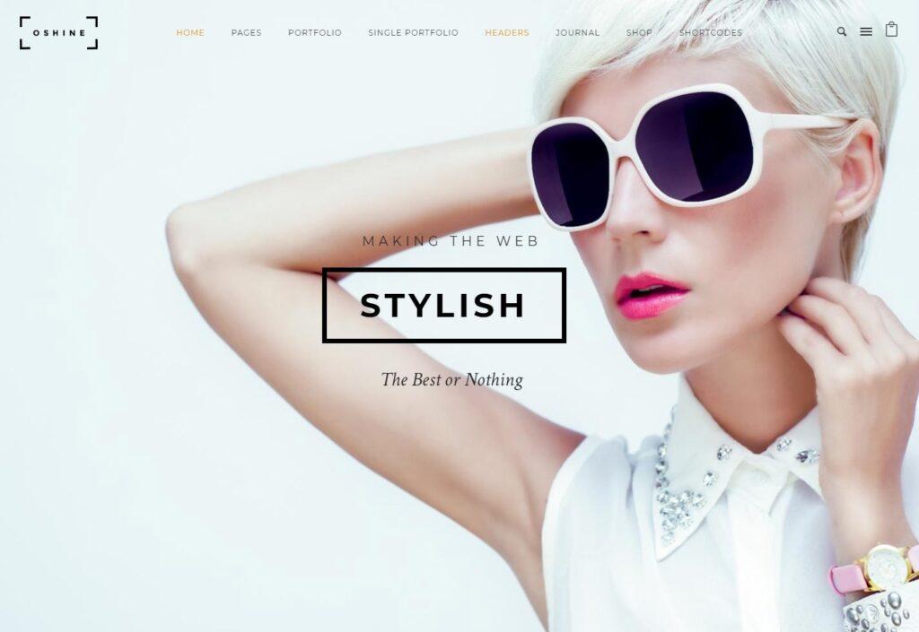 Oshine Multipurpose WordPress WooCommerce Themes