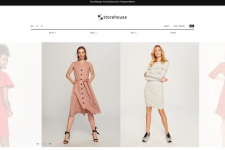 Storehouse Elegant WordPress WooCommerce Theme