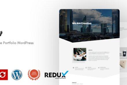 berly portfolio wordpress theme by webredox 601a05c266469