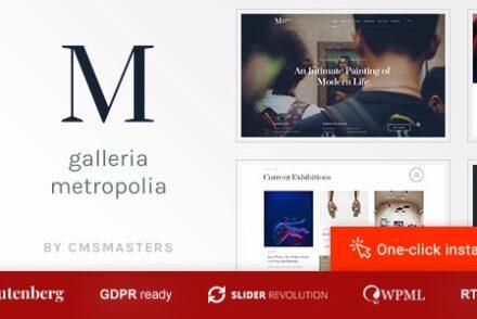 galleria metropolia art museum exhibition gallery theme by cmsmasters 601a071eea84e