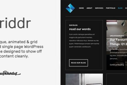 griddr animated grid creative wordpress theme by tommusrhodus 601a0900a0e3b