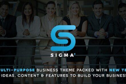 sigma business multi purpose latest technology responsive wordpress theme by 601de34e7eabf