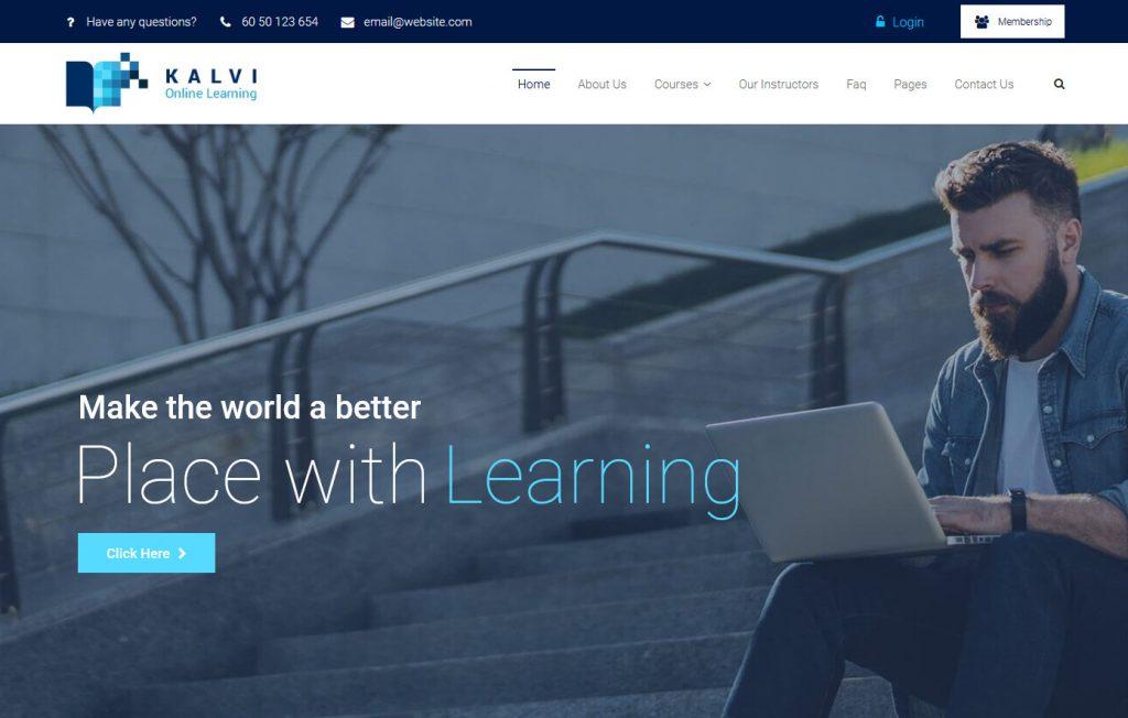 Education WordPress Themes 1
