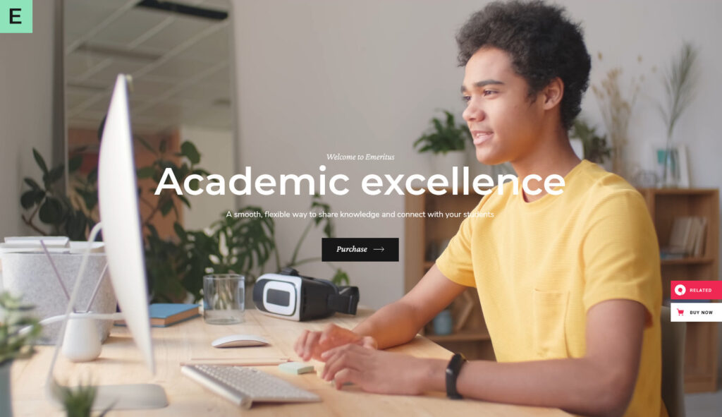 Emeritus WordPress Education Theme