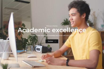 Emeritus WordPress Education Theme