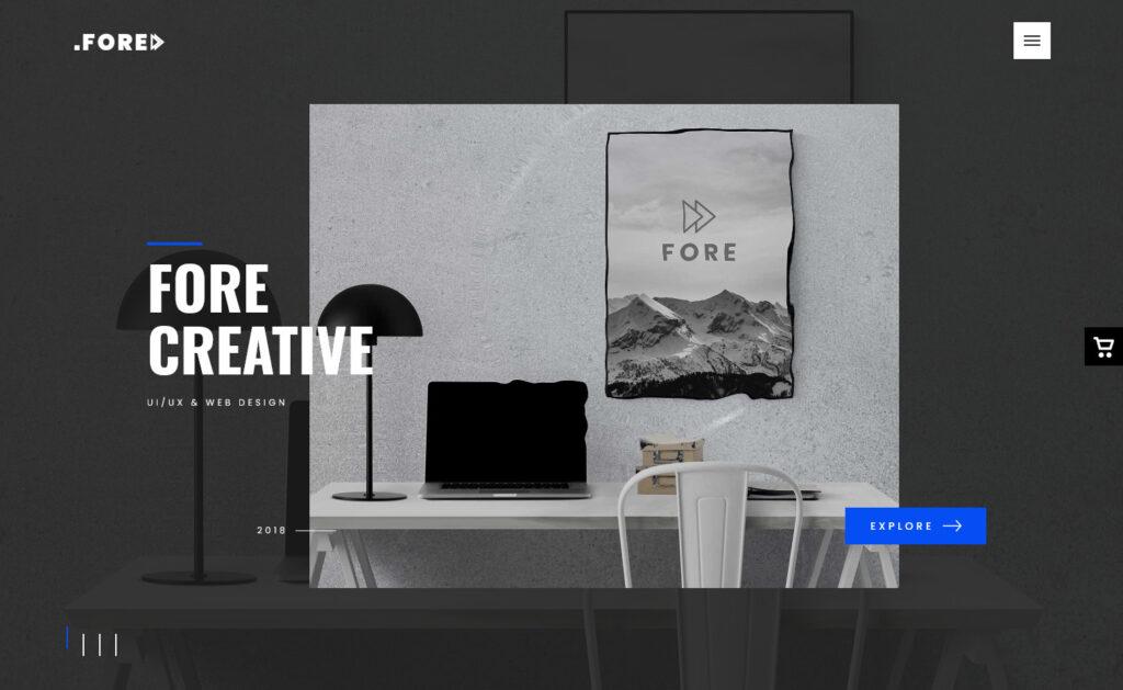 Fore – A Premium Creative Digital Agency WordPress Theme