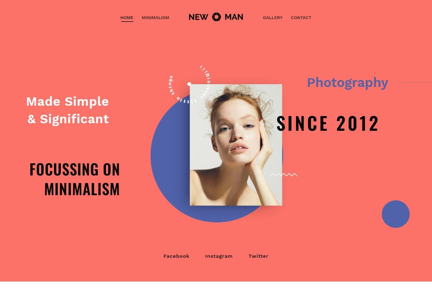 Graphic Design Portfolio Themes