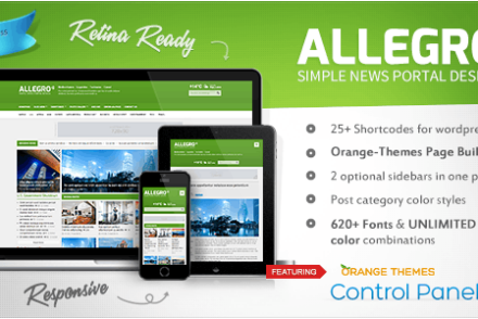 allegro multipurpose news magazine theme by orange themes 6041e0c8afe9f