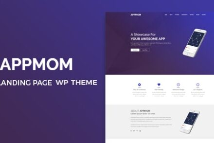 appmom multipurpose landing page theme by hastech 6042a10f02428