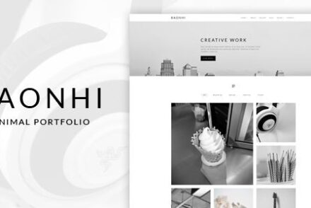 baonhi minimal portfolio wordpress theme by kendythemes 6041989e9986a