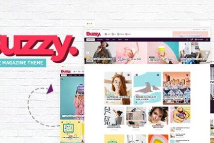 buzzy creative magazine theme by mikado themes 6042b2235c142