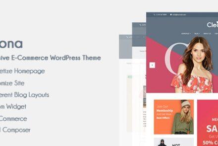 cleona responsive e commerce wordpress theme by arthemewipes 6042a4914ac67