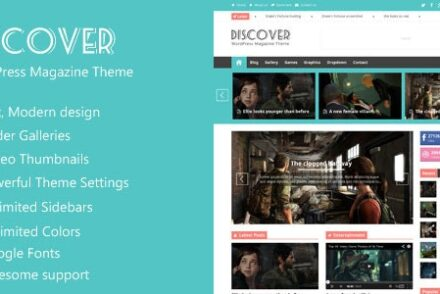 discover flat wordpress magazine theme by fairpixels 6041e192740a4