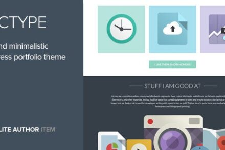 doctype a flat and minimal portfolio theme by codestag 6041e1c708359