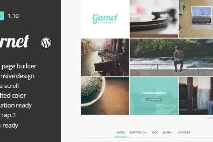 garnet creative portfolio wordpress theme by addtwomore 6041dd5599542