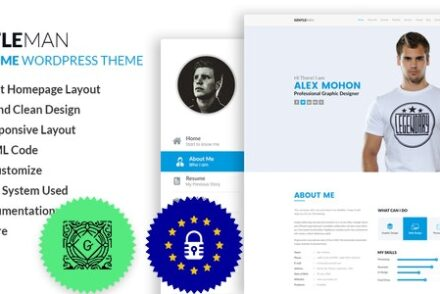 gentleman vcard cv resume wordpress theme by codexcoder 6041a5693ef53