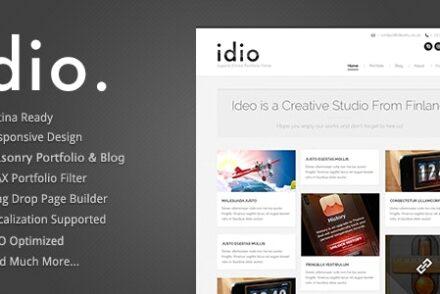 idio minimalistic wordpress portfolio theme by goodlayers 6041e25b0332b
