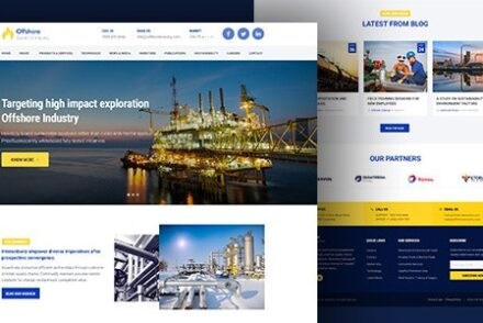 industrial business responsive wp theme offshore by gautamthapar 6042baab343d6