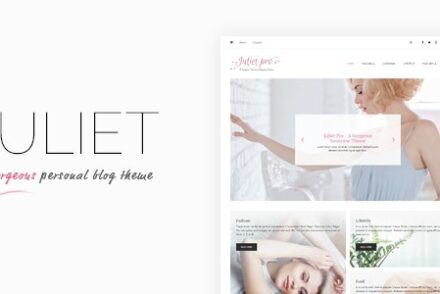 juliet a gorgeous personal blogging theme by lyrathemes 6041c5e796bf0