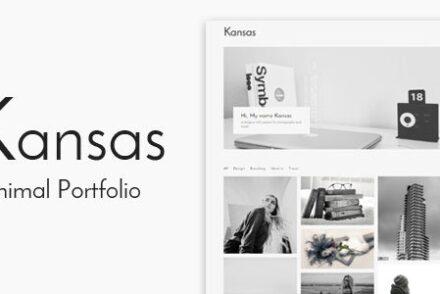 kansas minimal portfolio wordpress theme by kendythemes 6041a5ee5190e