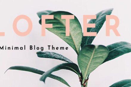lofter minimal blog by youforest 6041b882202b9
