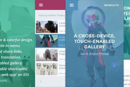 monolith wp theme for bloggers and professionals by bonfirethemes 6041e08a45cc7