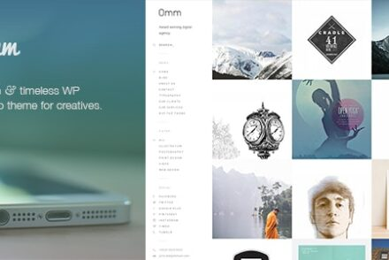 omm a carefully handcrafted clean minimal responsive wp portfolio theme with a sidebar menu by onioneye 6041deb1adcfd