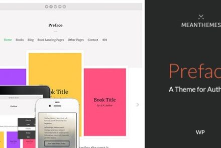 preface a wordpress theme for authors by meanthemes 6041dbc2f0599