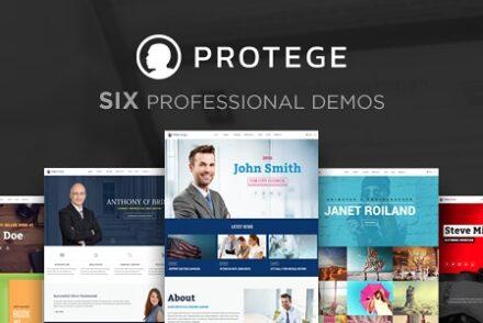 protege single professional theme by progressionstudios 6041bea638883