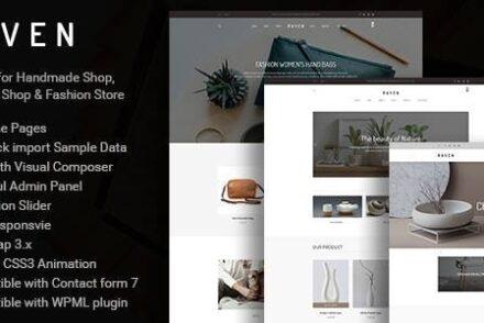 raven responsive woocommerce and blog wordpress theme by aucreative 6042972bab205