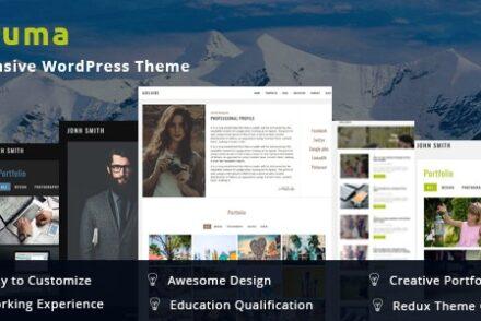 resuma portfolio responsive wordpress theme by bdtask 6041ae544b0d6