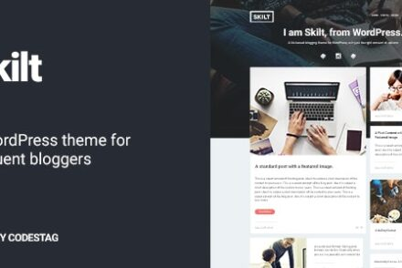 skilt a wordpress theme for frequent bloggers by codestag 6041de1be4c02