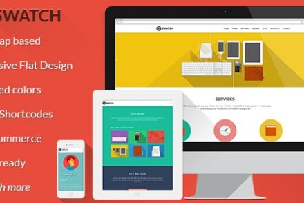 swatch flat responsive multi purpose wp theme by oxygenna 6041e1d467bb4