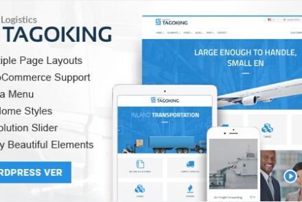 tagoking logistics wordpress theme by kopasoft 6042b079e7e51