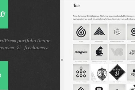 tao a modern responsive 3d wordpress portfolio theme with beautiful transitions and animations by onioneye 6041e12ea823a