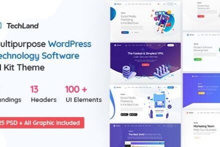 techland wordpress saas startup theme by ninetheme 604277ea885ae