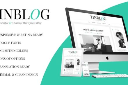 tinblog minimal wordpress blog theme by forethemes 6041c354af301