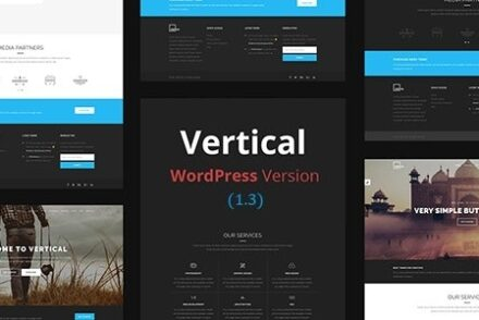 vertical one page multipurpose wordpress theme by thematicwebs 60419bc269dd2