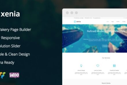 xenia refined wordpress corporate theme by puzzlethemes 6041db76aff10