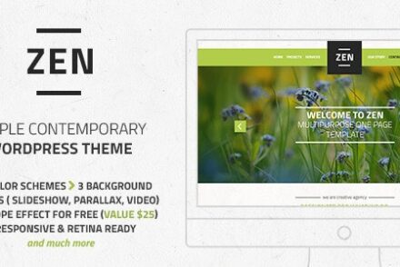 zen responsive multi purpose onepage wordpress theme by magethemes 6041dca43f943