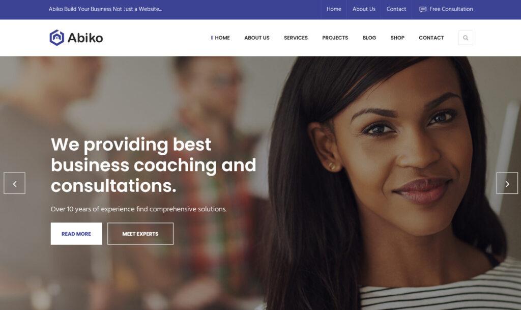 Abiko – Abiko WordPress Theme for Accountants